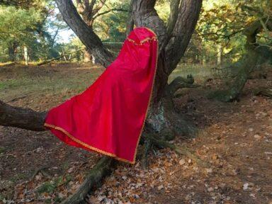 de rode mantel van Sinterklaas